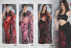Net Party Wear Sarees