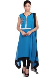 trendy party wear fashion styling designer kurti tunic