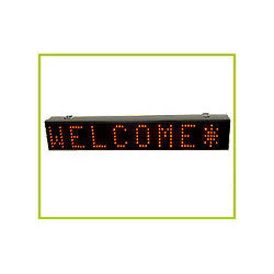 led moving message displays