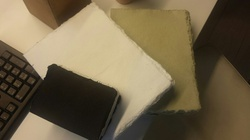 Deckle Edged Handmade Papers For Journal Makers