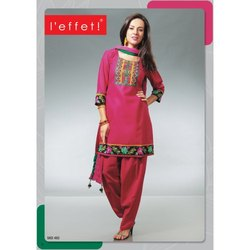 New Design Embroidery Cotton Suits