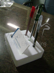 Acrylic Pen & Visiting Card Holder