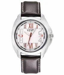VESPL Scenic White Dial Analog Men's Watch-VS141