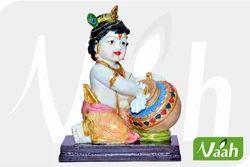 Vaah Resin Ladoo Gopal Statue