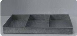 Galvanized Large Tray