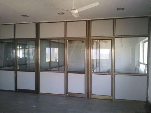 Aluminium Partitions Product : Aluminium partition door window frame panel shutters