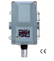 suction extractive type gas detector head
