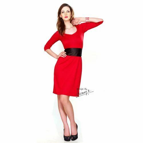 dresses corporate wear formal look one piece dress