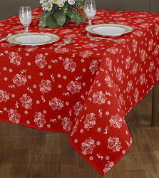 Bell Design Printed Gift Tablecloth