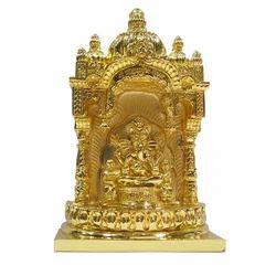 Siddhivinayk Gold Plated Statue
