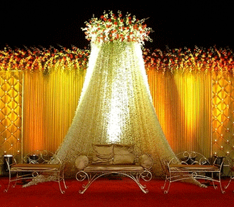 Wedding stage decoration professional audio and lighting service wedding stage decoration junglespirit Choice Image