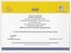 SMERA Rating Certificate