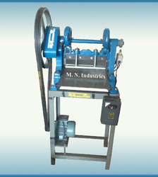 semi auto sample cloth cutting machine