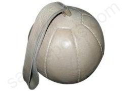 sling leather medicine ball