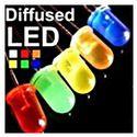 Diffused LED