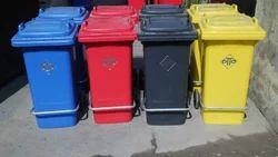 Lockable Plastic Dustbins 120 Litre