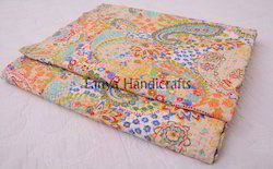 Paisly+Print+Kantha+Quilts