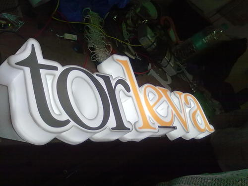Acrylic Letter Making Service