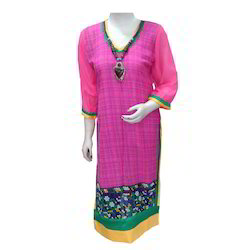 Multi Color Printed Kurti