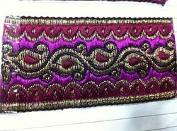 designer colorful jacquard lace