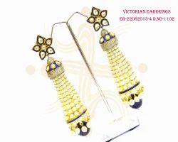 Victorian Long Earrings