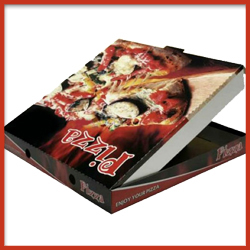 Pizza Box with attractive Printing
