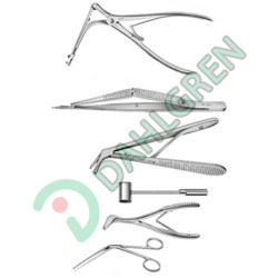 Bone Punch Nibblers and Lacrimal Instruments