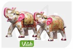 Vaah Marble Big Elephants