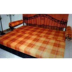 Steel Sofa Cum Bed Wrought Iron Fabricated Steel Metal Powde