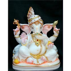 Marble Religious Ganesh Statue