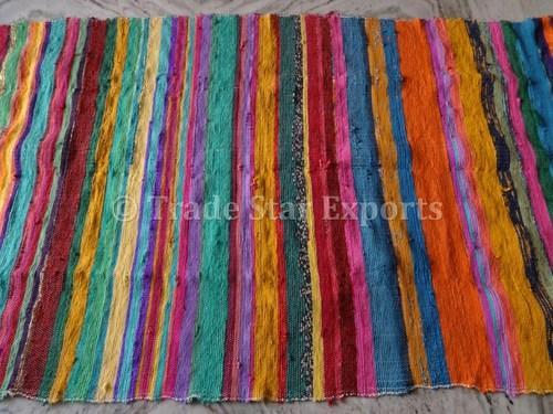 Handmade Rag Rugs Chindi Carpet Runner Dhurrie Area Rugs