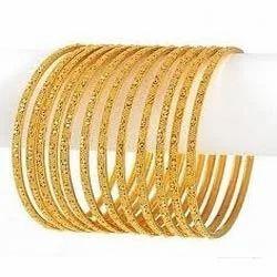 Ladies+Gold+Bangles