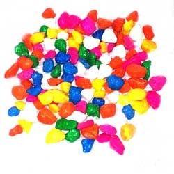 Colored Aquarium Pebbles