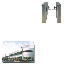 Turnstile Gate for Shopping Complex