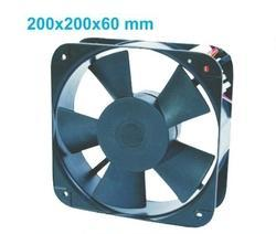 Square Axial Flow Fans 200x200x60mm