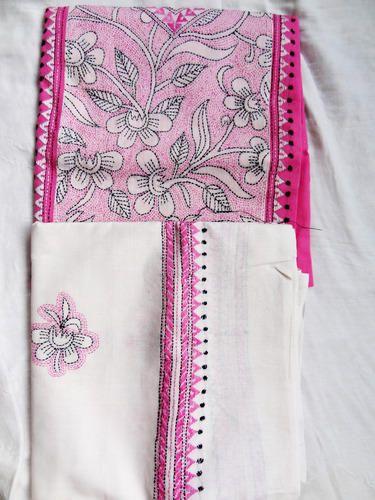 Cotton Salwar Suit Pieces Cotton Salwar Kameez Set With Reverse