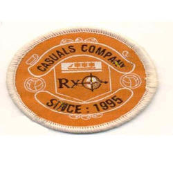 Company Embroidered Label