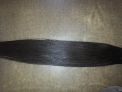 Natural Color Silky Straight Indian Hair