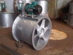 belt driven axial flow fans