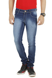 dark blue shaded jeans
