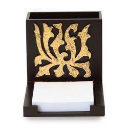 Gold Flower Pen Stand