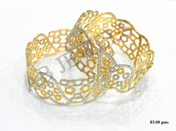 Gold Machine Bangles