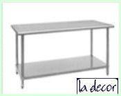 Under Shelf Work Kitchen Table
