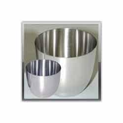 Lids Basins Platinum Ware Crucible