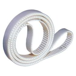 White PU Timing Belt
