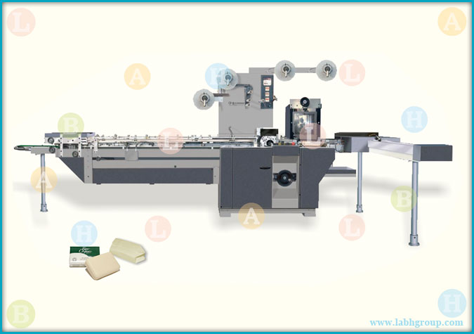 Automatic Toilet Soap Wrapping Machine