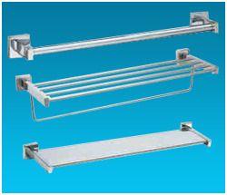 Surface Mounted Towel Bar & Shelf