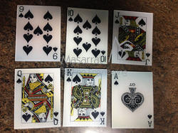 acrylic cards