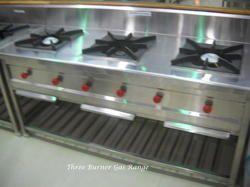 Three Burner Gas Range