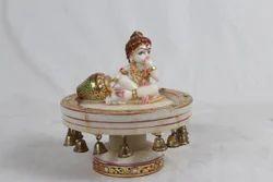 Revolving Marble Laddu Gopal